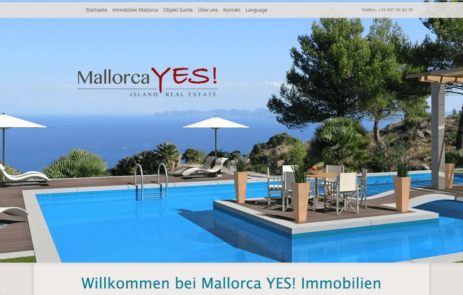 Website Mallorca Yes